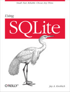 Cover of Using SQLite
