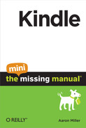 Cover image for Kindle: The Mini Missing Manual