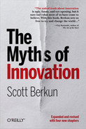 Cover of The Myths of Innovation