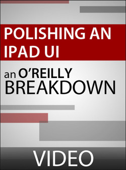 Polishing an iPad User Interface