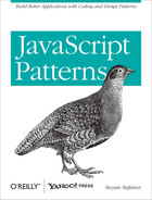 Cover image for JavaScript Patterns