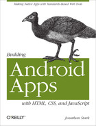Cover image for Building Android Apps with HTML, CSS, and JavaScript