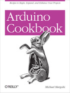 Cover of Arduino Cookbook