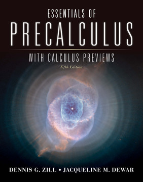 Essentials of Precalculus with Calculus Previews, 5th Edition