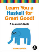 Cover of Learn You a Haskell for Great Good!