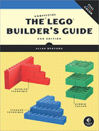 Cover of The Unofficial LEGO Builder's Guide (Now in Color), 2nd Edition