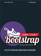 Book cover for Jump Start Bootstrap