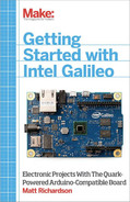 Cover image for Getting Started with Intel Galileo