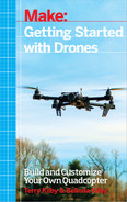 Cover of Make: Getting Started with Drones