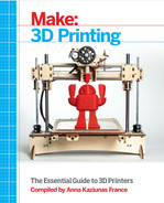 Cover of Make: 3D Printing