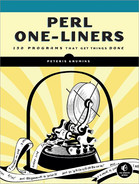 Cover image for Perl One-Liners