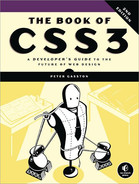 Cover of The Book of CSS3, 2nd Edition