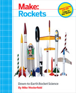 Cover of Make: Rockets