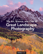 Book cover for The Art, Science, and Craft of Great Landscape Photography