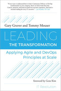 Cover of Leading the Transformation