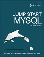 Cover of Jump Start MySQL