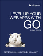 Cover of Level Up Your Web Apps With Go