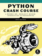 Cover of Python Crash Course