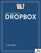 Cover of Take Control of Dropbox, 2nd Edition