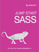 Cover of Jump Start Sass