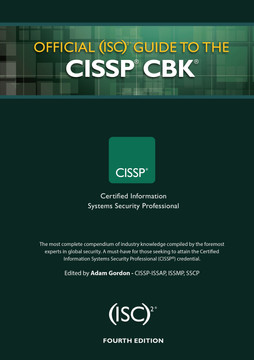 Official (ISC)2 Guide to the CISSP CBK, Fourth Edition, 4th Edition