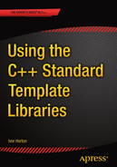 Cover of Using the C++ Standard Template Libraries