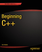 Cover of Beginning C++