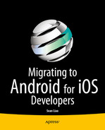 Cover of Migrating to Android for iOS Developers