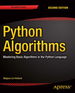 Cover of Python Algorithms: Mastering Basic Algorithms in the Python Language, Second Edition