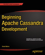 Cover of Beginning Apache Cassandra Development
