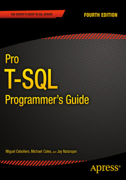 Pro T-SQL Programmer's Guide, 4th Edition