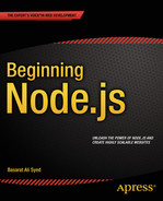 Cover of Beginning Node.js