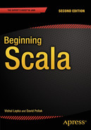 Cover of Beginning Scala, Second Edition