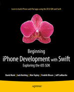Book cover for Beginning iPhone Development with Swift: Exploring the iOS SDK