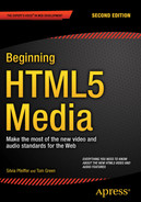 Cover of Beginning HTML5 Media : Make the most of the new video and audio standards for the Web, Second Edition