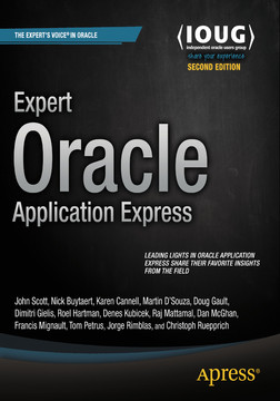 Expert Oracle Application Express, Second Edition