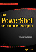 Cover of Pro PowerShell for Database Developers