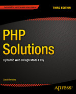 Cover of PHP Solutions: Dynamic Web Design Made Easy, Third Edition