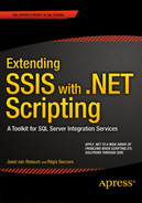 Cover of Extending SSIS with .NET Scripting: A Toolkit for SQL Server Integration Services