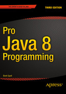 Cover of Pro Java 8 Programming, Third Edition