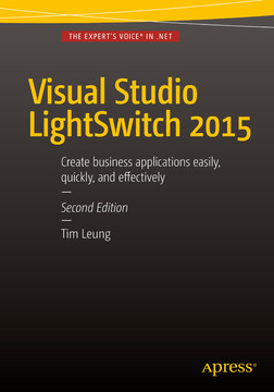 Visual Studio LightSwitch 2015, Second Edition