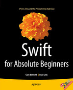 Cover of Swift for Absolute Beginners