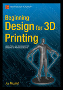 Cover of Beginning Design for 3D Printing