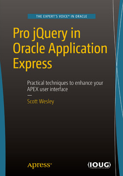 Pro jQuery in Oracle Application Express