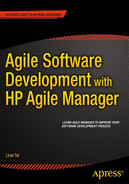 Cover of Agile Software Development with HP Agile Manager