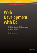Cover of Web Development with Go: Building Scalable Web Apps and RESTful Services
