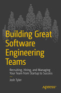 Cover of Building Great Software Engineering Teams: Recruiting, Hiring, and Managing Your Team from Startup to Success