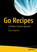 Cover of Go Recipes: A Problem-Solution Approach