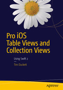 Cover of Pro iOS Table Views and Collection Views: Using Swift 2