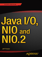 Cover of Java I/O, NIO and NIO.2